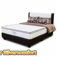 Disc 55% Spring bed New Comforta Silver Extra Pillow Top Uk 180x200