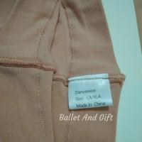 premium convertible Stocking Ballet NUDE merk DanceWear dewasa