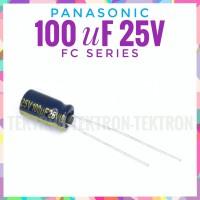 Panasonic 100uF 25V FC Series 105C audio part audiophile