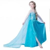 Baju Anak Perempuan Frozen Kostum Princess Elsa