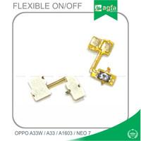 Flexibel On Off Oppo A33W A33 Neo 7 Flexible SWITH TOMBOL POWER ONOFF