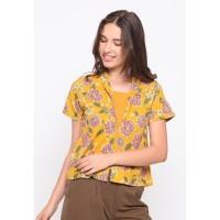 Rodeo - Batik Wanita - Leal Batik - Yellow