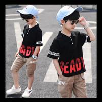 Setelan Pakaian Anak Laki Fashion Ready To Go Import Murah (ZH-KFC011) - S 110