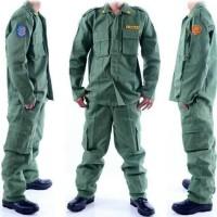 seragam linmas baju setelan hansip size M L XL XXL