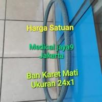 BAN MATI Solid Ukuran 24x1 SPAREPART KURSI RODA STANDART SUKU CADANG