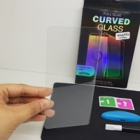 UV Glass Samsung S10 Plus S10+ 6.4 Tempered Glass Curve 3D FULL SCREEN