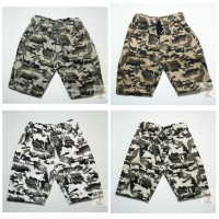 Celana Pendek Anak Army Loreng - celana cargo kargo anak