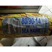 promo LUAR SWALLOW TUBELESS MOTOR 80 90 14 NON SEAHAWK BUAT METIC BAN