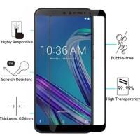 Asus Zenfone Max Pro M1 Tempered Glas 6D Full Cover Full Lem - Hitam
