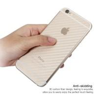 Iphone 6 7 8 plus X XS Max XR Skin Carbon Garskin Anti Gores Belakang
