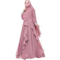 NEW SELINA SYAR'I Wolfice Baju Gamis Model Terbaru Muslim Simple 2019