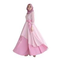 ZALEA DRESS Wolfice Baju Gamis Model Terbaru Dan Muslim Simple 2019