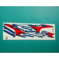 Stiker / striping motor mio sporty mx merah