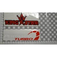 Cutting Sticker PERTAMAX TURBO putih merah