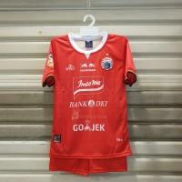 baju bola anak Team persija Kaos Jersey Anak Setelan simic merah