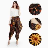 Celana Batik Agna Long Pants Aladin Jogger Wanita All Size