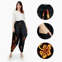 Celana Batik Agnia Long Pants Aladin Jogger Wanita All Size