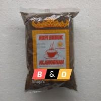 KLANGENAN. Kopi Bubuk Asli Lampung Netto 1 Kg.