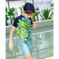 Baju renang diving anak balita laki laki tyrex dinosaurus 3d