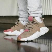 Sepatu Sneakers Adidas Prophere Beige Pink White Women