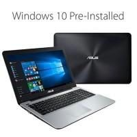 LAPTOP ASUS X555QA/AMD QUAD CORE A12-9720P/RAM 4GB/HDD 1TB/15.6/WIN10