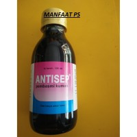 antiseptik pembasmi kuman kandan ANTISEP 120 ml produksi medion