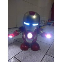 Avenger Iron Man Smart Dance Robot Super Hero ironman joget