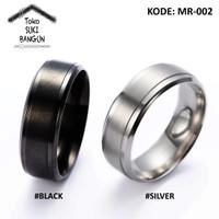 Ring Men / Cincin Pria Armor SATURN Metal Stainless Steel MR-002