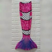Mermaid baju duyung baju renang new model kostum putri duyung anak