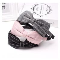 bandana / bando headband pita / aksesoris jepit bun korea