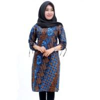 Baju Batik Tunic _ Baju Batik Drees Wanita