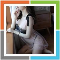 Baju Tidur Sexy Hot D1976 Baju Tidur Wanita Musim Panas Versi Korea Da