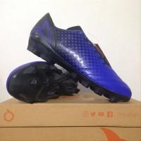 NEW Sepatu Bola OrtusEight Utopia FG Vortex Blue Black 1101