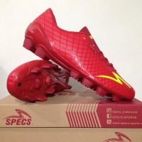 NEW Sepatu Bola Specs Accelerator Exocet FG Dark Red 100764