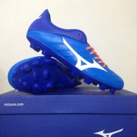 NEW Sepatu Bola Mizuno Rebula 2 V3 Brilliant Blue White P1G