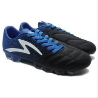 NEW sepaty Bola Specs Equinox FG Black -Tulip Blue - Sepatu