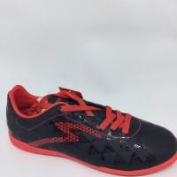 NEW Sepatu futsal specs quark in black emperor red original