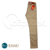 Celana Chino Slim Fit - Celana Panjang Pria Premium Khaki Gold Smith