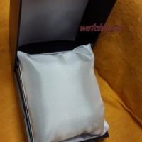 Kotak Box Tempat Jam Tangan Hitam Bantal Mika Seiko casio skmei q&q