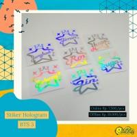 Stiker Hologram BTS Ver.3