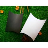 PILLOW BOX / KOTAK KADO BAHAN LINEN UKURAN 11,5 X 8,5 X 3 Cm