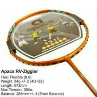 Raket Badminton Apacs RV Ziggler ORIGINAL Bonus Bg66