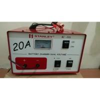 Cas Aki Accu Stanley 20a 12v 24v Charger Dual Voltage 12 V 24 V 20 A H