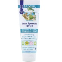 Badger Clear Daily Natural Mineral Sunscreen SPF 30 Clear Zinc 118ml