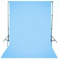 Backdrop Background Screen Foto Biru Terang Polos 200 x 300 Cm Tebal