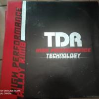 Velg TDR W/WX-Shape(Kotak) 185 - 215 Ring 17