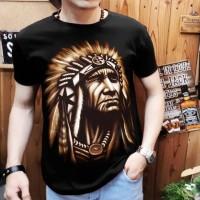 Gracellina Coll / kaos spandek T-Shirt Distro Pria indian L