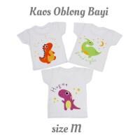 Kaos Oblong Bayi Bergambar size M/Baju Bayi/Kaos Bayi/Atasan (Sablon)