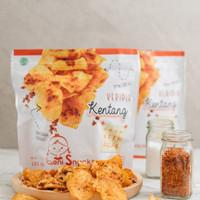LENI SNACKS: Keripik Kentang / Potato Chips - Rasa Asin Pedas