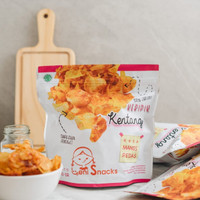 LENI SNACKS: Keripik Kentang / Potato Chips - Rasa Manis Pedas